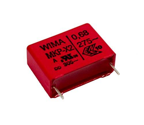 Kondensator MKP X2 0,68µF 275V Ersatzteil Senseo Kaffeemaschine Typ 7850 7852 7854 7855 7857 uvm.