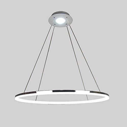 LightInTheBox–Alarma Caja Colgante lámpara LED, diseño moderno de anillo de Principal lámpara de techo Flush montaje, lámpara de techo Araña Iluminación para salón dormitorio comedor