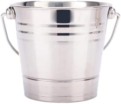 Stainless Steel Ice Bucket Nippon regular agency Champagne for Bar Max 52% OFF Wine Cooler