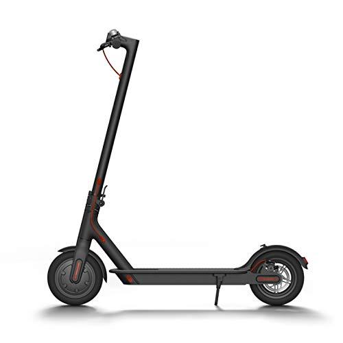 Patin ELECTRICO Scooter CITYCROSS Negro INFINITON (Ruedas de 8,5' inflables, Velocidad máxima 28km/h, Autonomía 15-20km, Movilidad Urbana)