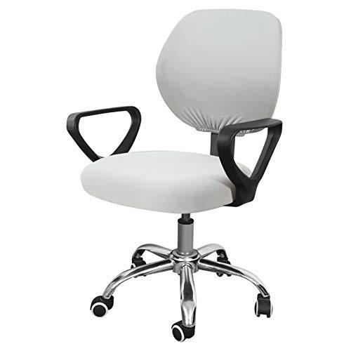 YAYANG Chair Cover Elastische Stuhlabdeckungen rotierender Büro-Computer-Schreibtisch-Sitzstuhl Stretch Cover Abnehmbare Slipcover Casual (Color : G248492)
