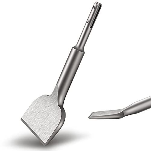 Flintronic SDS-Plus-Meißel, 165mm x 75 mm Hochleistungs - Fliesenmeißel SDS Plus, Turbo Fliesenmeißel, Hochwertige Erweiterungsserie Fliesenmeißel für Gewerblichen Einsatz, Keramik, Bodenfliesen