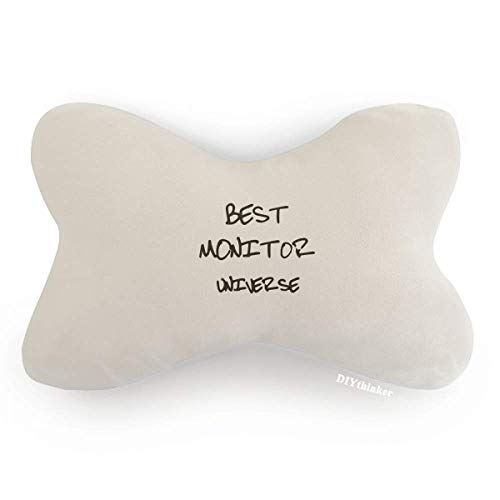 DIYthinker Best Monitor Universe Graduation Season Car Trim Neck Decoration Pillow Headrest Cushion Pad
