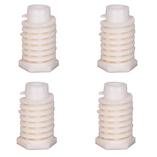 4 Pack 49621 Dryer Leveling Leg Foot Compatible with Whirlpool Kenmore Maytag KitchenAid Amana Replaces AP4295805 PS1609293