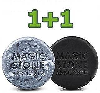 エイプリルスキン マジックストーンソープ オリジナル&ブラック (Aprilskin Magic Stone Soap Original & Black) 90g * 2個 / 正品・海外直送商品