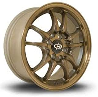1 PC ONLY ROTA CIRCUIT 10 WHEELS 16X7 PCD:4X100 OFFSET:45 HB:67.1 FULL ROYAL SPORT BRONZE