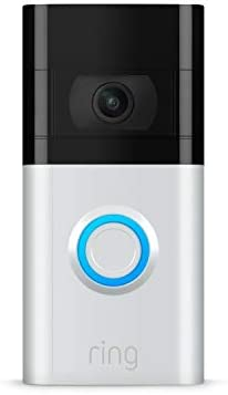 Ring Video Doorbell 3 enhanced wifi improved motion detection easy installation product image