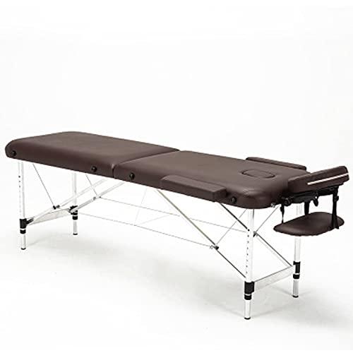 HuaBiao Table De Massage Pliante Aluminium Cosmetique Lit De Massage Portabl Ergonomique Table...