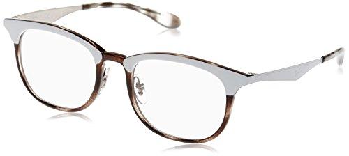 Ray-Ban 0Rx7112, Monturas de Gafas Unisex-Adulto, Grey Havana Top Mat White, 51