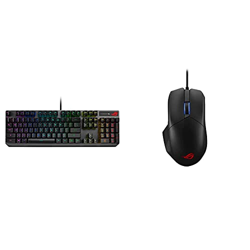 ASUS ROG Strix Scope RX Mechanical Keyboard & ROG Chakram Core Gaming Mouse