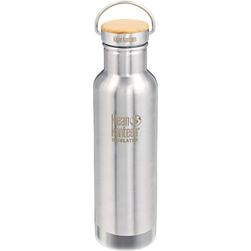 Klean Kanteen Reflect Vacuum Insulated Trinkflasche, Edelstahl, Brushed Stainless, One Size