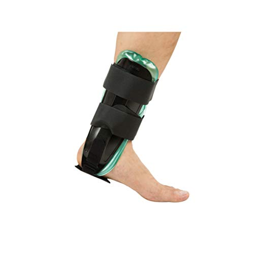 Air Gel Ankle Stirrup Brace Stabilizer Support for Reduce Ankle Swelling and Inflammation, Relief Sprains and Arthritis Pain (Gel & Air)