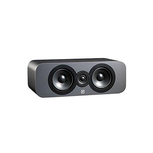 Q.Acoustics QA3090 - Altoparlante centrale per tutti i dispositivi, colore: grafite