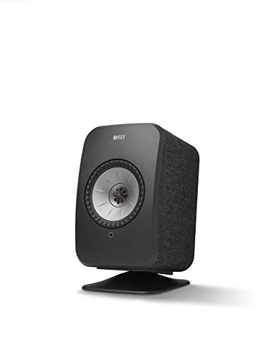 KEF LSX P1 - Pie de Mesa, Color Negro