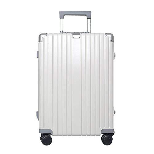 Ys-s Personalización de la tienda Universal rueda de marco de aluminio de 20 pulgadas caja de la carretilla caso de embarque de 24 pulgadas maleta estudiante contraseña maleta, resistente al agua, res