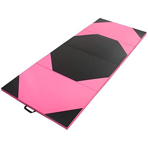 ZHANG Ejercicio Estera de Yoga Ejercicio Yoga Estera de Gimnasia Gimnasio PU Soft Tumble Play Crash Safety Fitness Pad Esteras de Ejercicio