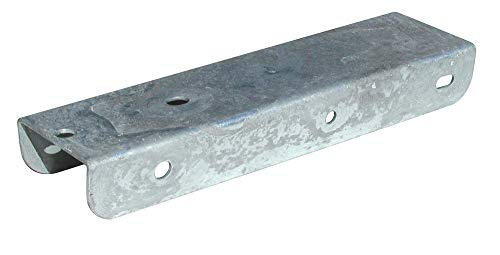 Tie Down 86260 Fender Mounting Brackets - Offset for 8'' and 12'' Fenders, Grey