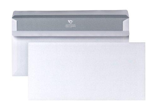POSTHORN Briefumschlag Din Lang (110x220mm) selbstklebend weiß 75g 1000 Stück
