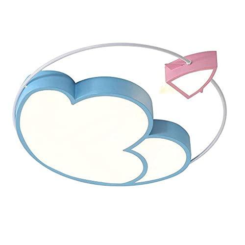Luz de emergencia Dibujos animados Nube Nube Decorativo Chica Habitación LED Luces de techo Luces de Pasillo Instalación rápida Chandelier Flush Monte Lámpara de techo Balcón Kindergarten Luces Corred