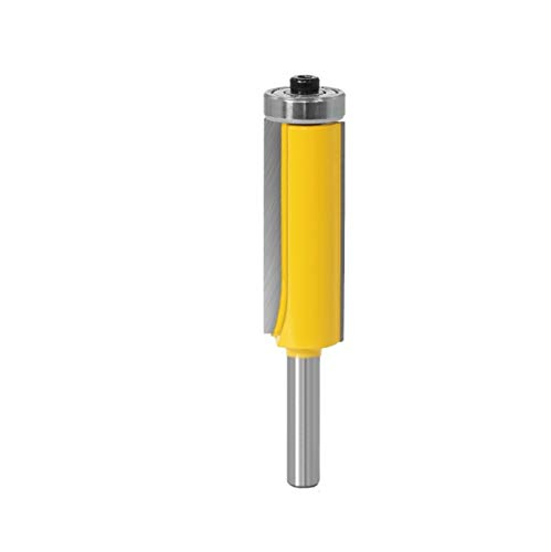 1 STÜCK 8mm Spülleiste Muster Router Bit Top & Bottom Lagers Bits Fräser Für Holz Holzbearbeitungsschneider cnc schaftfräser set (Cutting Edge Length : Flush trim bit)