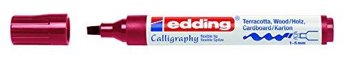 edding Kalligrafie-Marker creative 1455, karmesin, 1-5 mm