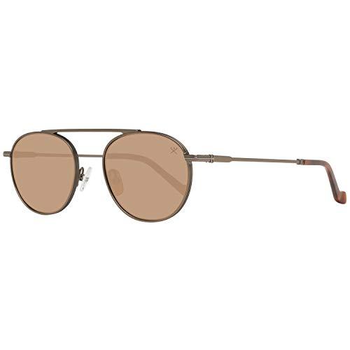 Hackett London HSB8709149 Gafas de sol, Dorado, 49 para Hombre