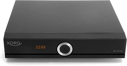 Xoro HRK 7672 HDD DVB-C HD Kabelreceiver (HDTV Twin Tuner, HDMI, USB PVR Ready, S/PDIF Opt., MiniSCART, ohne SATA Festplatte im FP-Schacht, 12V) schwarz, inkl. conecto® HDMI-Kabel