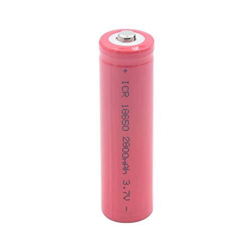 ndegdgswg 1 2 4 StüCk 3.7 v 18650 2800mah Taschenlampe Power Bank Taschenlampe Interphone Ersatzzellen Batterien Icr 18650 Li Ionen Batterie 1piece