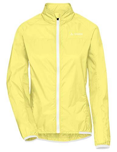 VAUDE Damen Jacke Women's Air Jacket III, Windjacke für Radsport, 80 % winddicht, mimosa, 44, 408069780440