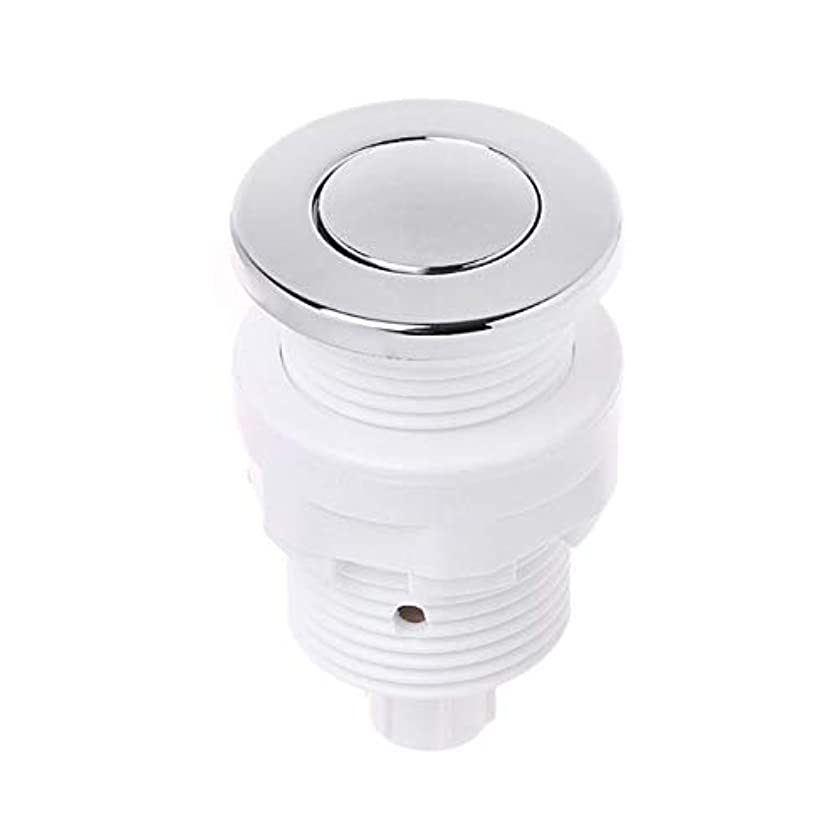 28mm/32mm Push Air Switch Button For Bathtub Spa Waste Garbage Disposal Switch - (Color: 28 mm)