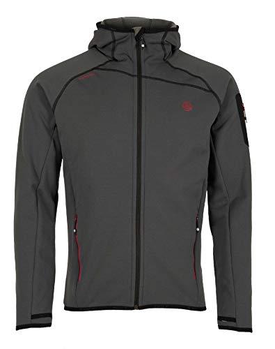 Ternua® Punjab Jacket M Veste pour Homme XL Gris/Noir (Whales Grey/Black)