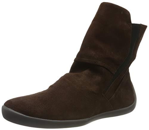 Softinos Damen NIDO552SOF Hohe Stiefel, Braun (Dk. Brown 001), 40 EU