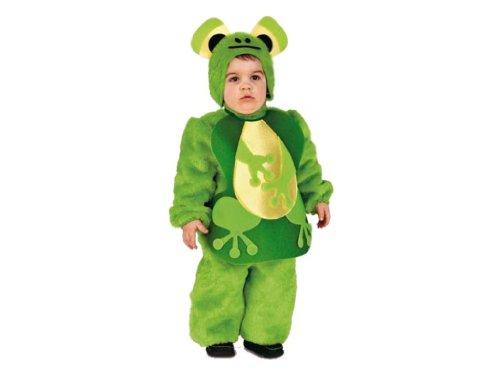 Rio - 103366/tg01 - Costume Enfant - La Petite Grenouille En Peluche - 2-3 Ans