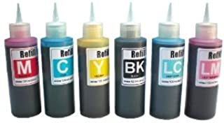 Ink Refill Kit for Cis and Refillable Cartridges Epson Printers Using 79 Ink :Stylus Photo Printers 1400