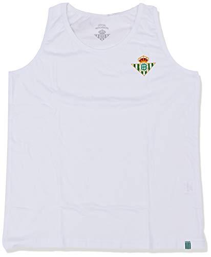 Kappa Fan Betis Camiseta sin Mangas, Mujer, Blanco, M