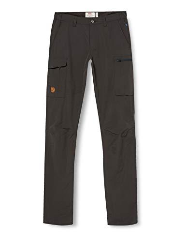 Fjallraven Herren Travellers MT Trousers M Sport, Dark Grey, 50