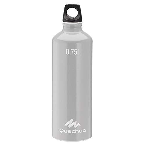 Quechua 100 Aluminium Wandern Wasserflasche mit Schraubverschluss 0,75L