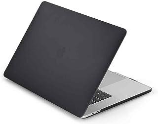 For MacBook Pro 16-inch Model (A2141) - LENTION Matte Anti-scratch Hard Case Shell - Black
