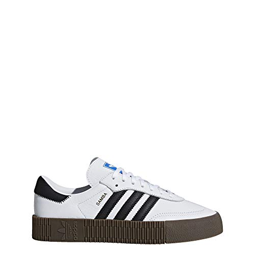 Adidas SAMBAROSE W, Zapatillas de Deporte para Mujer, Blanco (Ftwbla/Negbás/Gum5 000), 38...
