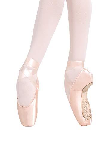 Capezio Developpe #5.5 Shank Pointe Shoe - Size 7.5W, Petal Pink