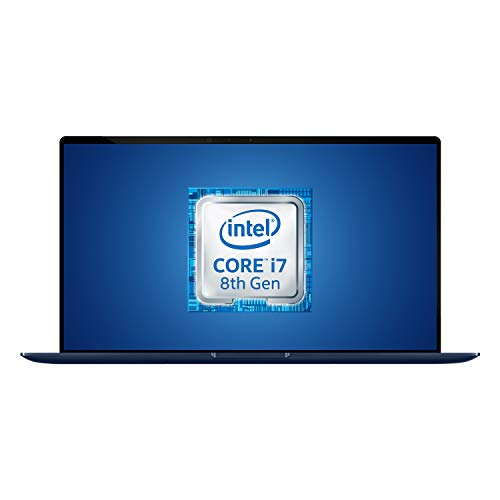 "Asus Zenbook UX433FN-A5389T, Notebook con Monitor 14"", Anti-Glare, Intel Core i7 8565U, RAM 8GB, 256GB SSD PCIE, Windows 10, Scheda Grafica Nvidia da 2 GB GDDR5"