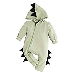 5. WISWELL Toddler 3D Dinosaur Romper Jumpsuit