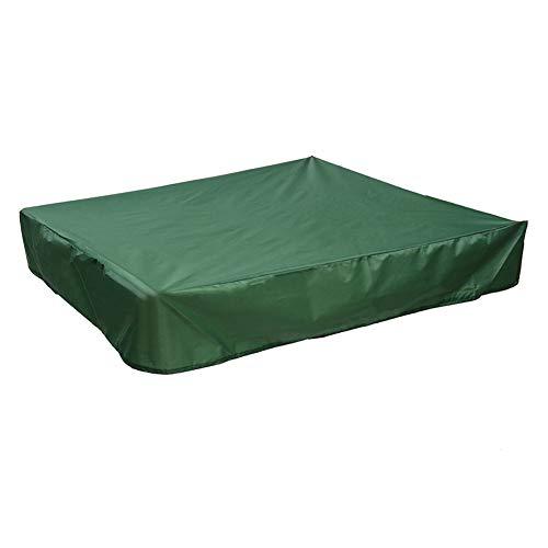 ROKFSCL - Cubierta para Caja de Arena, Cubierta de Tela Oxford con cordón, para niños, para terraza, jardín