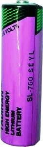 Tadiran SL 760 S ER - AA Lithium R&zelle 3,6V Lithium-Thionylchlorid