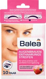 Balea Enthaarungsstreifen Augenbrauen, 1 x 10 St