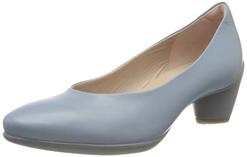 Ecco Damen SCULPTURED45 Pumps, Blau (Dusty Blue 1434), 40 EU