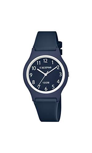 Calypso Reloj Analógico para Niños de Cuarzo con Correa en plástico K5798/4