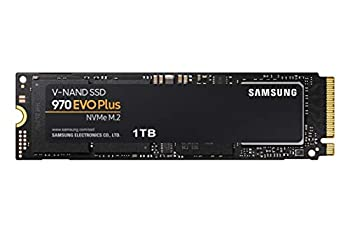 SAMSUNG  MZ-V7S1T0B/AM  970 EVO Plus SSD 1TB - M.2 NVMe Interface Internal Solid State Drive with V-NAND Technology