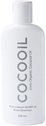 COCOOIL Body n Beach Oil SPF 15 6 7 Fl Oz product image