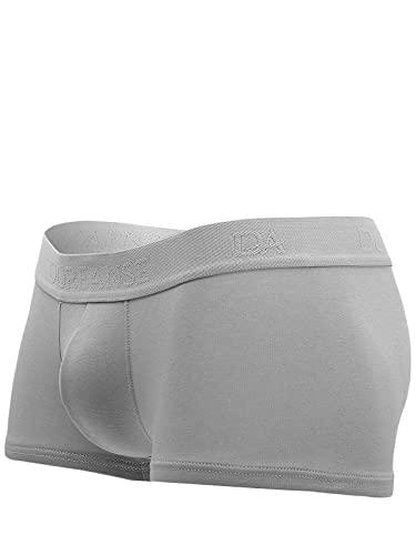 Doreanse Underwear Herren Hipster Pants Modal Mini Boxershort Grau XL
